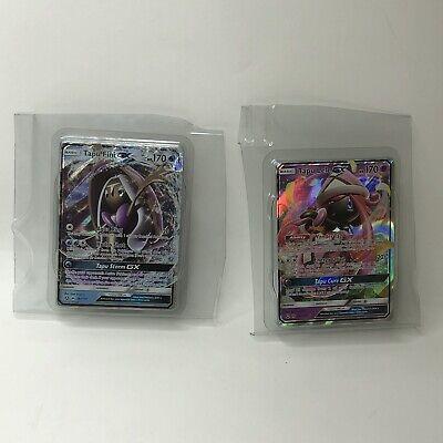 Pokemon TCG CCG Cards Tapu Lele GX 60a/145 & Tapu Fini GX 39a/147 Lot Holo USA