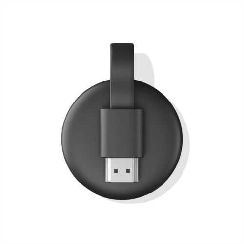 Google Chromecast 3rd Gen Digital HDMI Media Streaming  - Black
