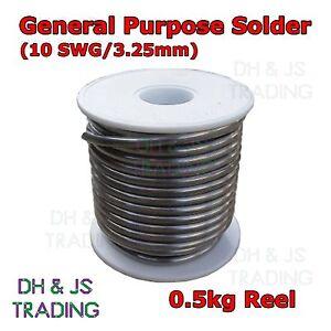 500g-Reel-3-25mm-10awg-60-40-Tin-Lead-Fluxed-Core-Solder-Wire-Sn-Pb-Soldering