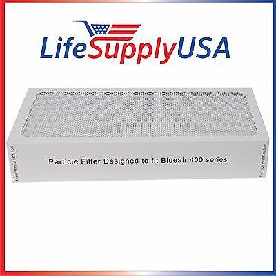 3 NEW Air Purifier Filters fit ALL Blueair 400 Series Models