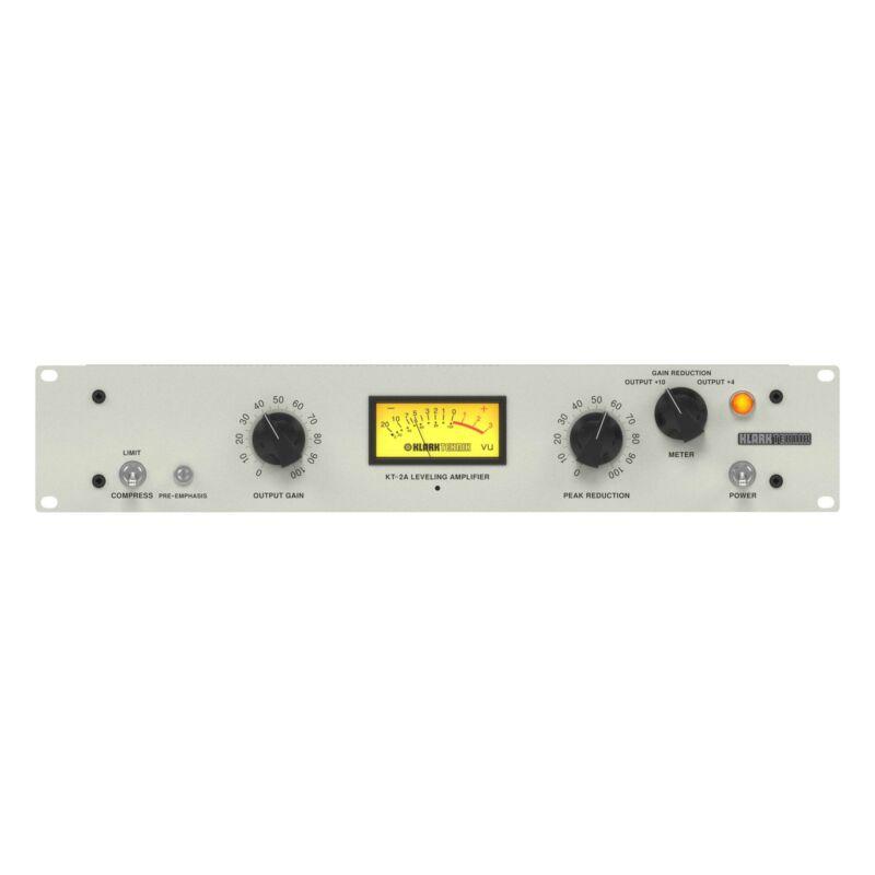 Klark Teknik 2A-KT Single-Channel Leveling Amplifier and Compressor