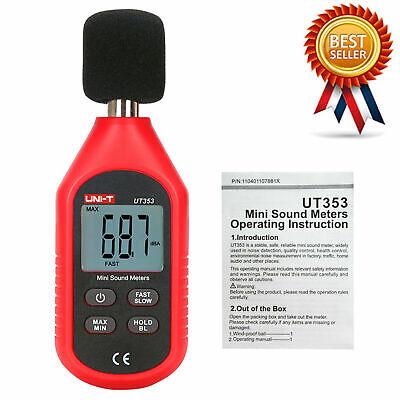 Uni-t Ut353 Mini Sound Level Meter 30-130db Instrumentation Noise Decibel Mon