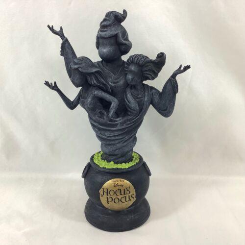 "Disney HOCUS POCUS Sanderson Sisters Statue SPIRIT HALLOWEEN 10"" Movie Black"