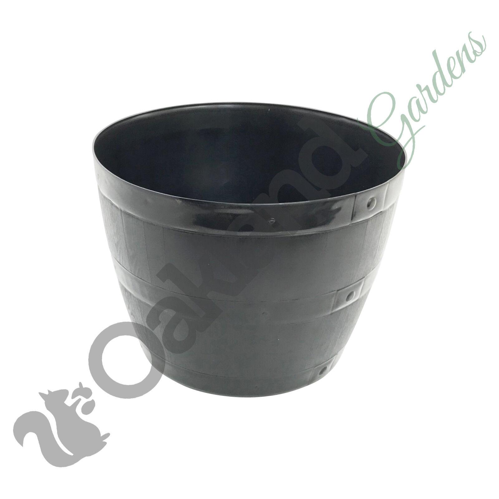 Barrel Style Planters