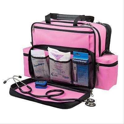 Nurses Home Health Shoulder Bag - Pink 1 ea