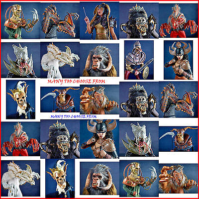nightmare collections masks & costumes by mario chiodo dragon/knight/spider many - Mario Chiodo Masks