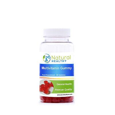 Haar, Haut und Nägel - Multivitamin Gummi - Erwachsene - Natur & Gesund UK - Gesundheit Multivitamin