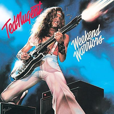 TED NUGENT BANNER FLAG POSTER - 3 ft X 3 ft - WEEKEND WARRIORS