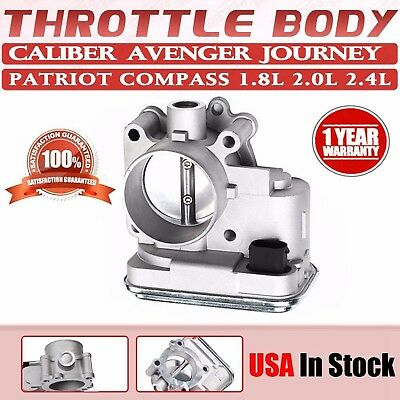 Throttle Body For Jeep Chrysler Dodge 1.8L 2.0L 2.4L Compass Caliber 4891735