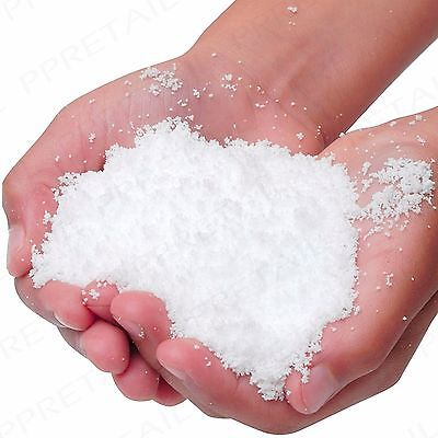 150g ARTIFICIAL CHRISTMAS SNOW Instant Winter Snowflake Decoration Fluffy Flake