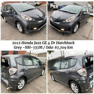 🔥 Wrecking // Dismantling 2012 Honda Jazz GE 4 Dr Hatchback in Grey - Odometer : 67,709km West Footscray Maribyrnong Area Preview