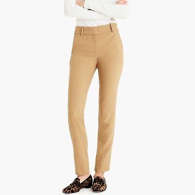 NWT J Crew Full-Length Cameron Pants Style K2089 Four Season - Size 0