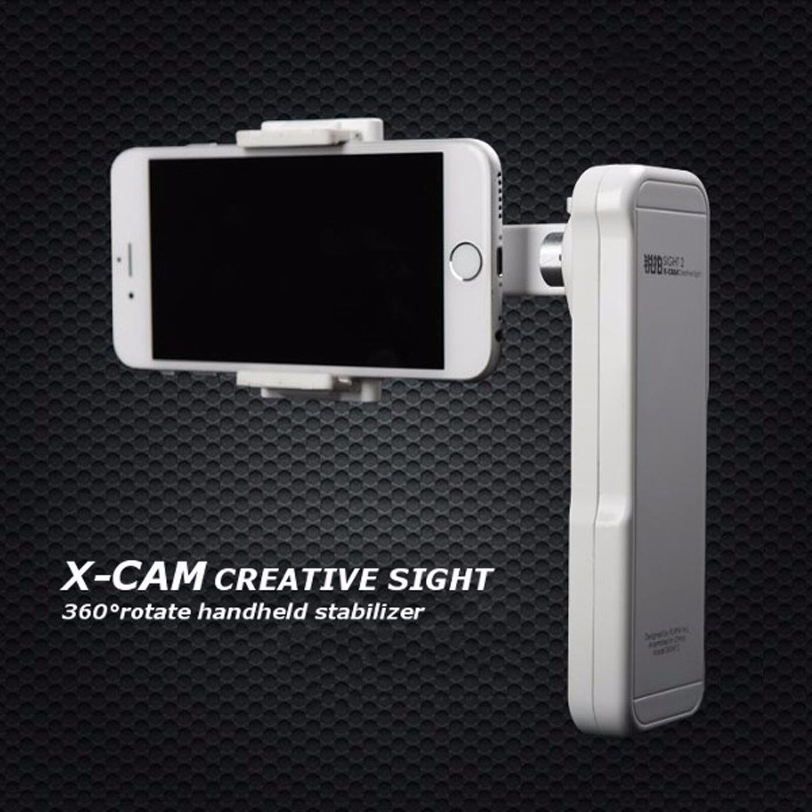 X-Cam SIGHT2 2-axis Stabilizer Bluetooth Self-timer Brushles
