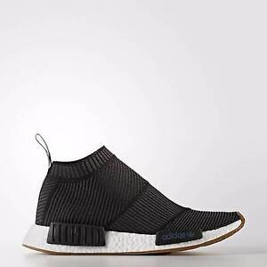 Adidas NMD CS1 Primeknit Black Gum Size US 6 Chatswood Willoughby Area Preview