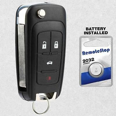 For 2014 2015 2016 Chevrolet Impala Sonic Keyless Entry Car Remote Flip Key Fob