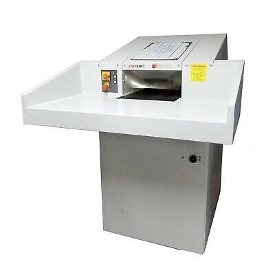 Hsm Fa400.2 Industrial Strip Cut Conveyor 203va 3ph Paper Shredder Will Ship
