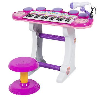 BCP 37-Key Kids Electric Keyboard w/ Microphone,