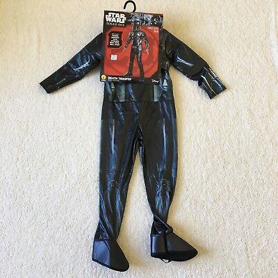 Youth Star Wars Rogue One Death Trooper Halloween Costume New Size Small 4-6