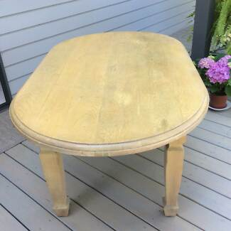 Solid Dining Table Mona Vale Pittwater Area Preview