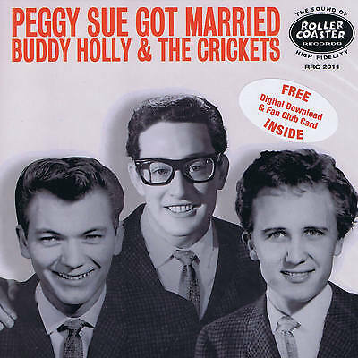 BUDDY HOLLY & CRICKETS - PEGGY SUE GOT MARRIED (New 2015 mix) (Red Wax issue)