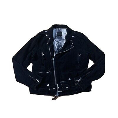 Midnight Studios x Steve Emberton Sid Vicious Corduroy Moto Jacket Size Medium