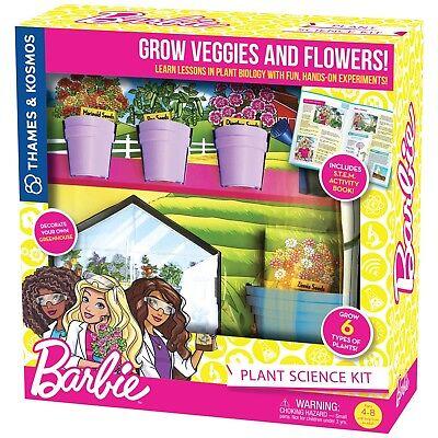 Barbie Plant Science Kit STEM Grow 8 Types of Plants Thames & Kosmos 549015  ()