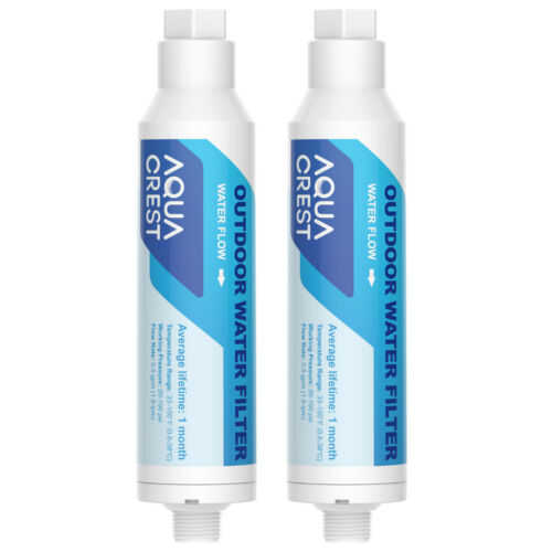 Car Washing Inline Water Filter Soften Water for Window & Yard Cleaning 2 Pack