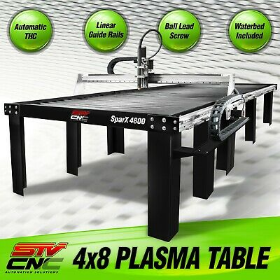Stv Cnc 4x8 Plasma Cutting Table Sparx-4800 - Made In The Usa