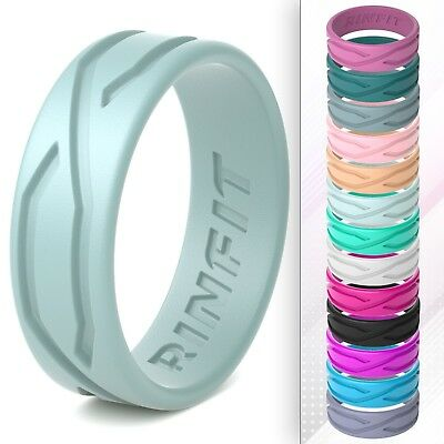 Design Wedding Collection - Silicone Wedding Ring for Women - Patented design - 4LOVE collection by Rinfit