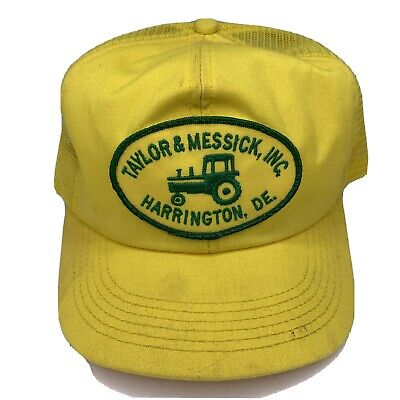 Vintage Taylor & Messick Inc Snapback Trucker Hat Mesh Patch Cap K Products USA
