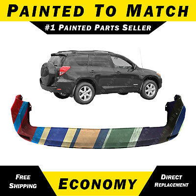NEW Painted To Match - Rear Bumper Cover for 2006-2008 Toyota Rav4 w/out Flares for sale  Grand Rapids