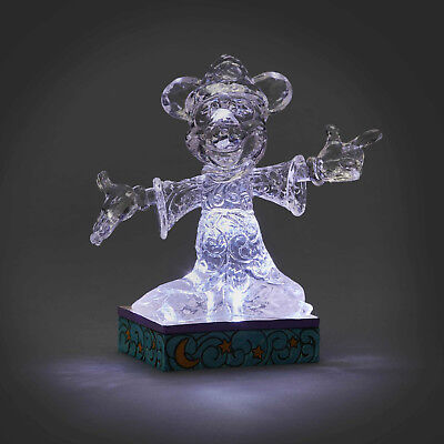Jim Shore Disney Traditions Ice Bright Sorcerer Mickey New 2018  In Stock