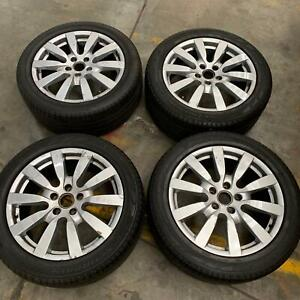 Genuine Porsche Cayenne wheels and tyres Port Melbourne Port Phillip Preview
