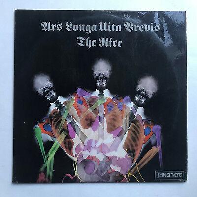THE NICE - ARS LONGA VITA BREVIS * VINYL LP * FREE P&P UK * IMMEDIATE IMSP 020 *