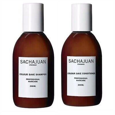 SACHAJUAN Colour Save Shampoo & Conditioner Professional Haircare 250 ML/8.45 oz