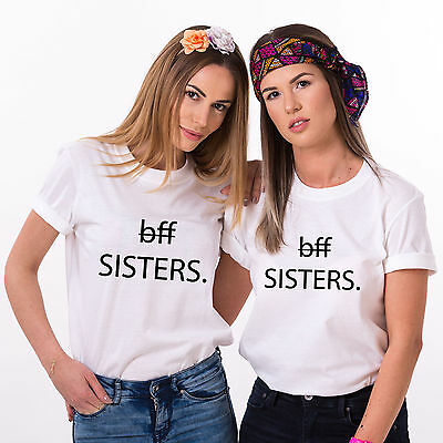Best Friends Sisters Shirts, BFF Matching Outfits, Best Friends Women's