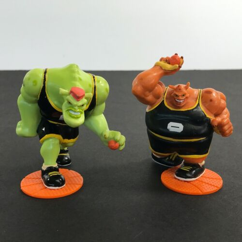Lot of 2 Vintage Space Jam Applause PVC Action Figures 1996 Bupkus & Bang