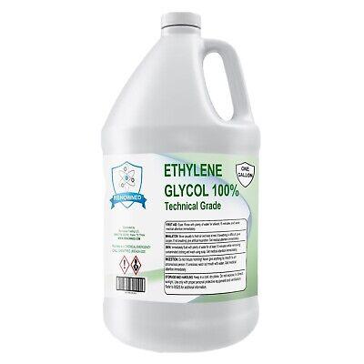 100 Ethylene Glycol Technical Grade 1 Gallon Bottle 128 Fl Oz