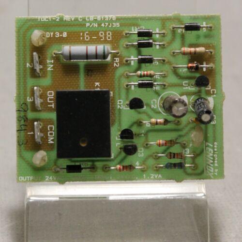 Lennox T0C1-2 C REV LB-61378 P/N 47J35 Timed Off Control Circuit Board