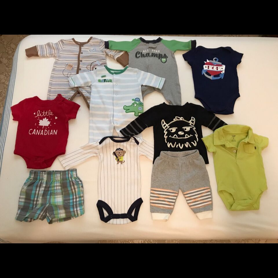 Baby clothes 0 to 3 months boys lot 1   Clothing - 0-3 ...