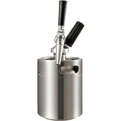 2l Nitro Cold Brew Coffee Maker Machine Stainless Nitrogen Keg W 24 Chargers