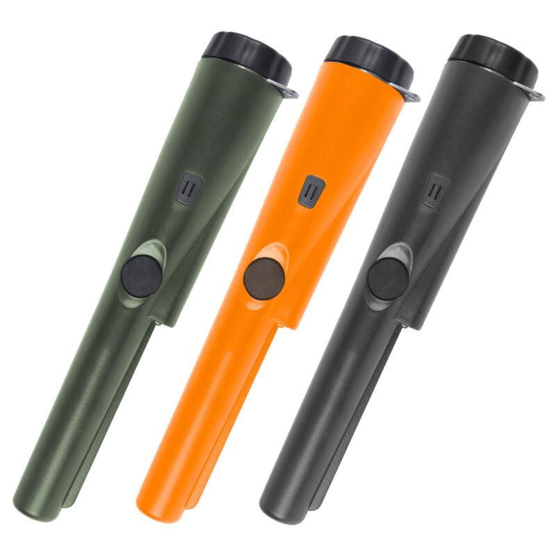 Waterproof Handheld Pin Pointer Wand High Sensitivity Metal Detectors w/Light