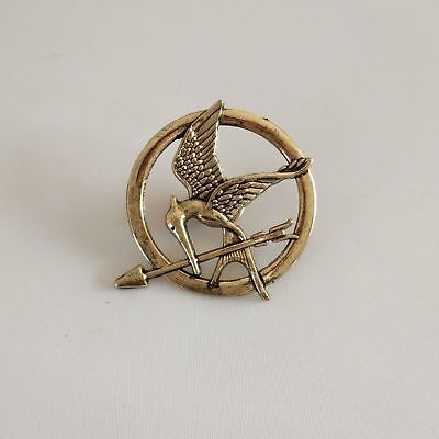 HUNGER GAMES MOCKINGJAY KATNISS EVERDEAN PIN BROOCH NEW JEWELRY COSPLAY