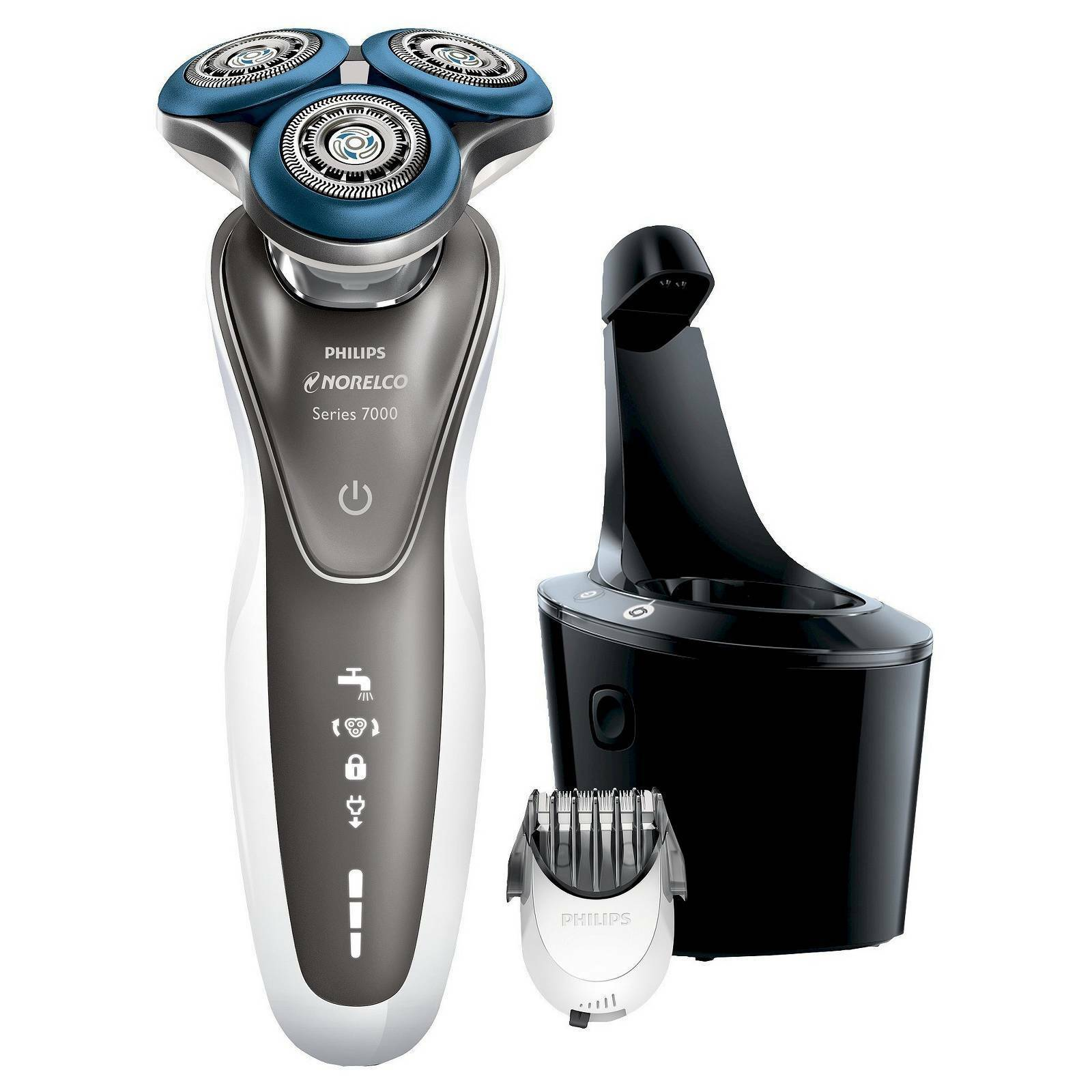 Buy Philips Norelco Shaver 7700 for Sensitive Skin S7720 85standard ... 1dede66b31c