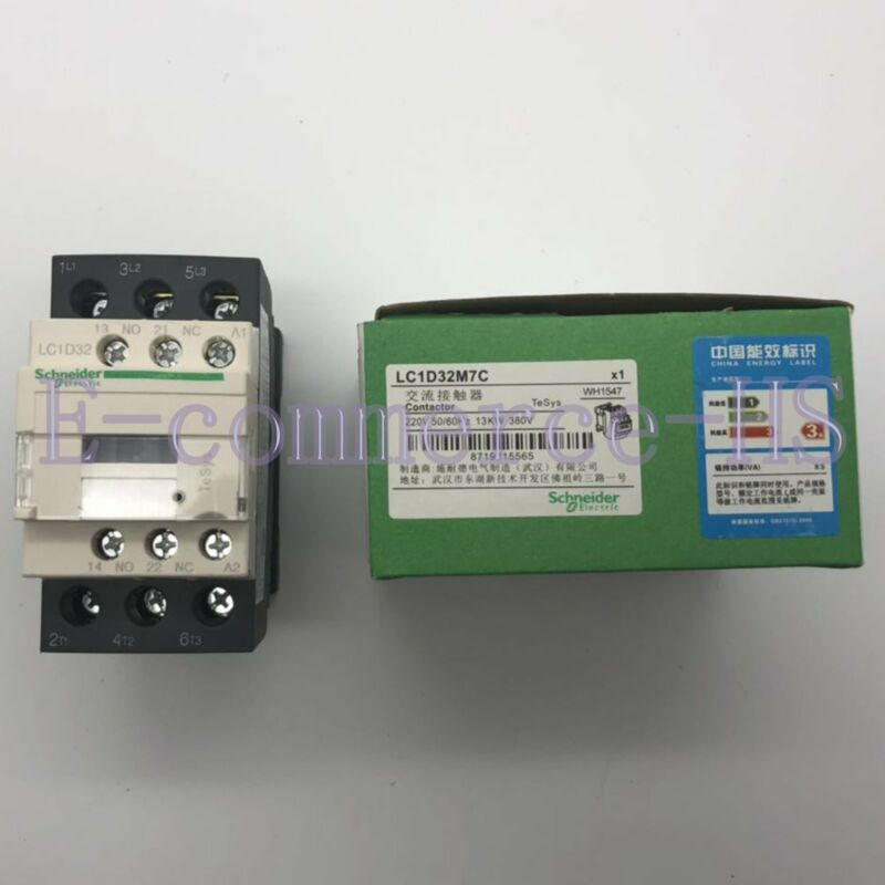 1PC New Schneider Telemecanique LC1D32M7C 220VAC Contactor Free Shipping