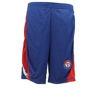 Texas Rangers Official MLB Genuine Kids Youth Size Athletic Shorts New with Tags - Mlb Kids Shorts