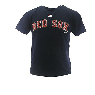 Boston Red Sox MLB Majestic Cool Base Youth Kids Size Athletic T-Shirt New Tags - Boston Red