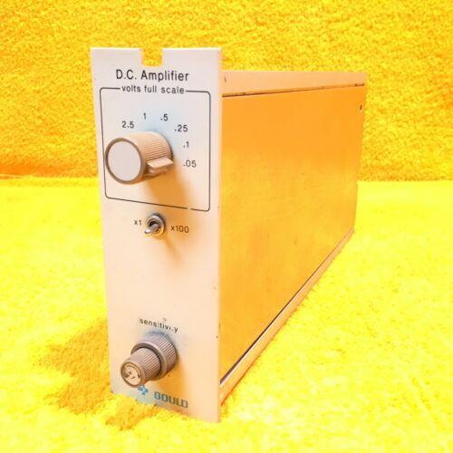 EXCELLENT  GOULD 13-4615-00 DC AMPLIFIER PLUG IN MODULE