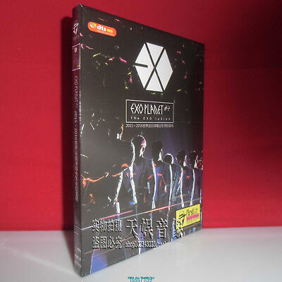 EXO 2015-2016 Planet #2 World Tour Tokyo Dome Luxion in Japan Concert DVD Box