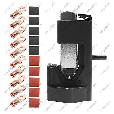 Battery Cable Hammer Crimper Tool For 8-40 Awg Connectors Battery Welding Cable